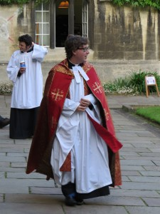 Wills Exe Chaplain robes