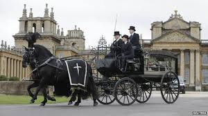 Funeral hearse of 11th Duke