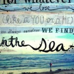 Poetry and sea