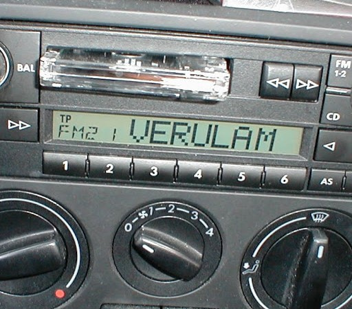 Radio set to Veralum